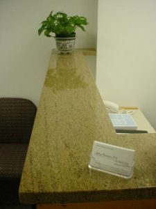 Chiropractic Brookline MA Office desk